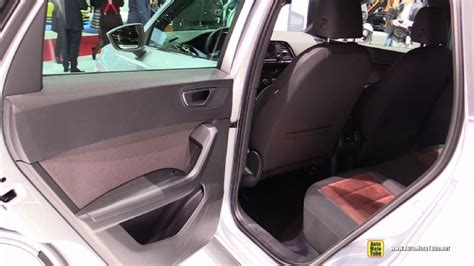 seat ateca interior 2017 seat ateca at 2016 geneva motor show