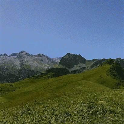 Mountain Range Mountains Sticker Giphy Tweet Rigling