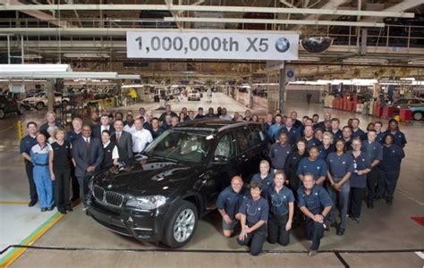 bmw builds  millionth  suv  south carolina plant