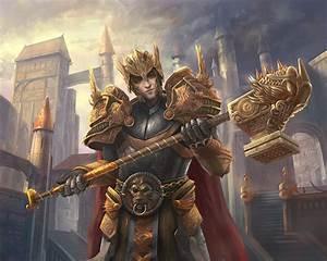 Picture Armor Man Warriors War hammer Fantasy