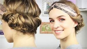 Haarband Für Dutt : haare flechten kinderfrisuren ~ Frokenaadalensverden.com Haus und Dekorationen