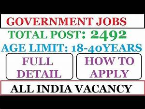 Government Jobs | INDIAN POST OFFICE RECRUITMENT 2017 ...