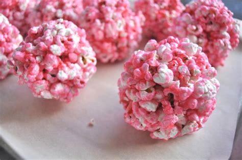 colored popcorn balls pink popcorn balls baking pink popcorn popcorn balls