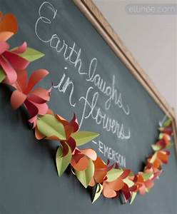 pin by elli on fabulous freebies pinterest With paper flower garland template