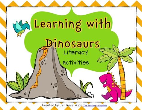 dinosaur lesson plans for dinosaurs pictures and 327 | dinoLITcover 600x465