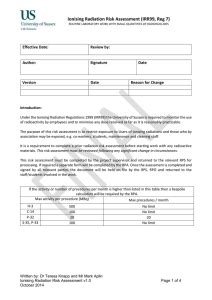 letter  appointment  radiation protection supervisor