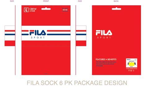fila sport package designs  gustavo  castro  coroflotcom