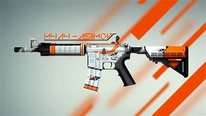 Csgo Wallpapers Cs Skin Asiimov Strike Counter