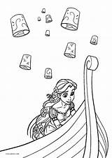 Coloring Pages Tangled Printable Rapunzel Activity Disney Cool2bkids Candid Inspirations Splendi Pagess Moana sketch template