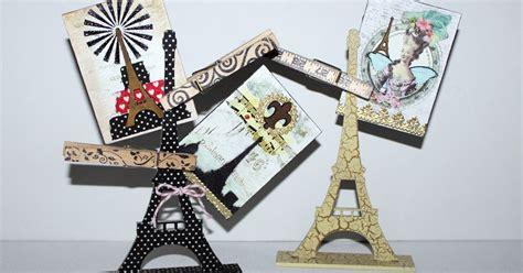 Sprei Eiffel Tower retro caf 233 gallery washi eiffel tower atc holder