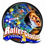 Tycoon Rollercoaster Coaster Icon Roller Park Amusement