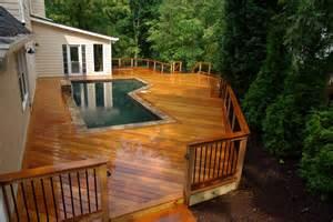 DIY Wood Deck