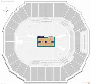 Spectrum Arena Seating Chart Charlotte Hornets Seating Guide Spectrum Center Time