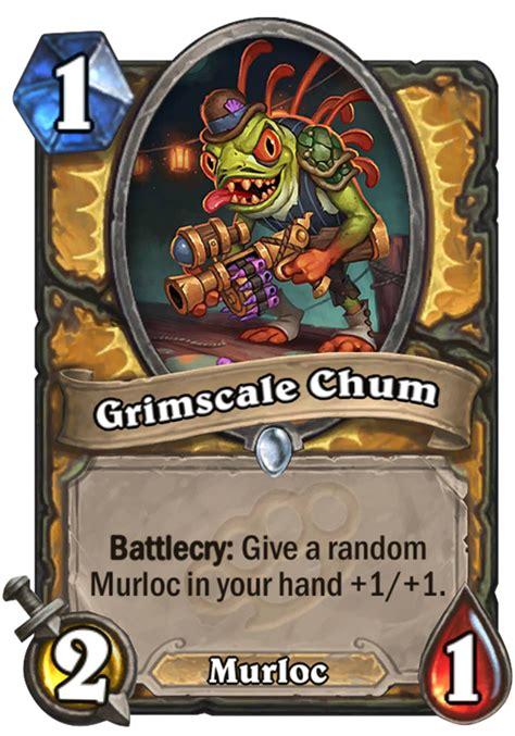 grimscale chum hearthstone card