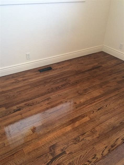 hardwood floors idaho falls red oak with medium stain classic flooring