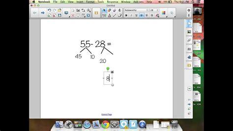 number bonds subtraction problem youtube