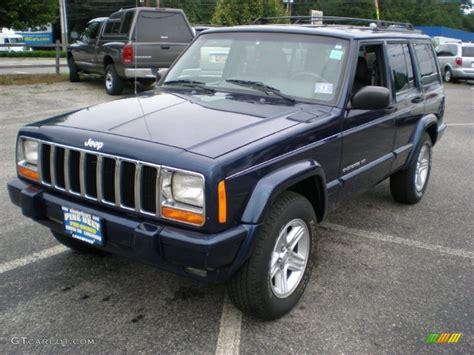 patriot jeep blue 2000 patriot blue pearl jeep cherokee limited 4x4