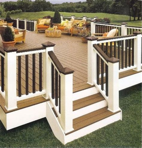 deck like color scheme outdoor decor
