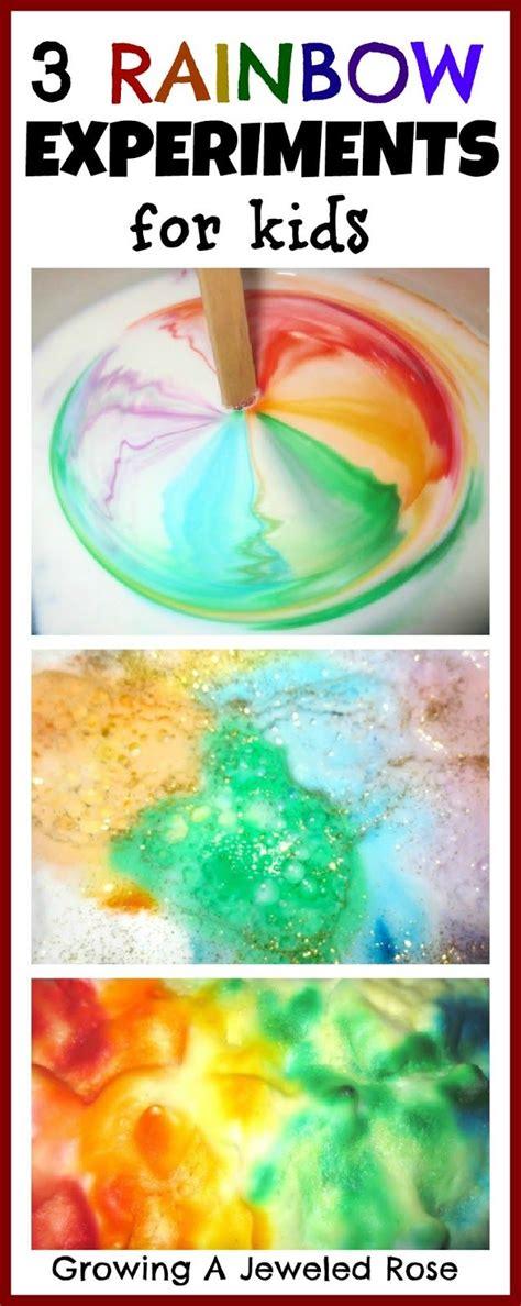 science activities for preschoolers pinterest bath activities for rainbow science for 293