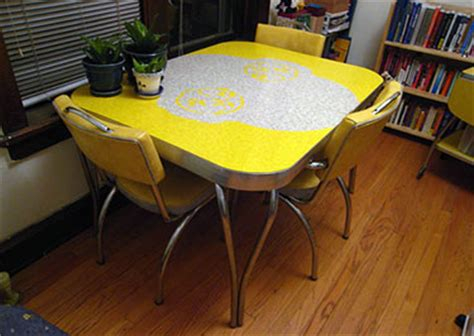 yellow kitchen table and 54 of the best retro kitchen dining tables ever