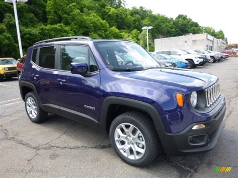jeep renegade dark blue 2016 jetset blue jeep renegade latitude 4x4 113615055