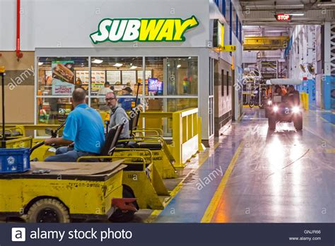 Chrysler Sterling Sting Plant by Sterling Heights Michigan A Subway Sandwich Shop Inside