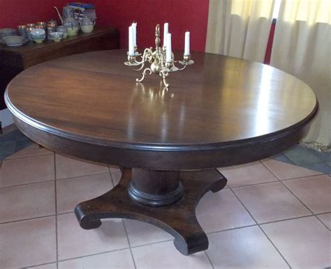 vintage dining table antique mahogany dining table 53 quot ebay 6860