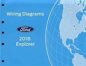 2018 Ford Explorer Wiring Diagram Manual Original