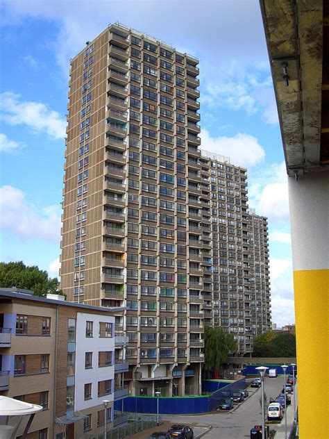 Tower Blocks In Great Britain