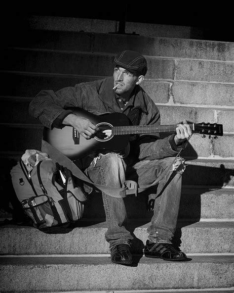 Free photo: People, Homeless, Musician, Street - Free