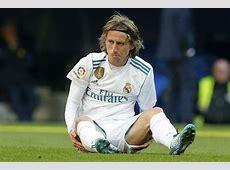 Luka Modric sustains injury, joins Madrid's growing injury