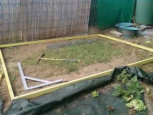 Realiser Un Plancher Bois : r alisez une dalle en b ton pour votre abri de jardin ~ Dailycaller-alerts.com Idées de Décoration
