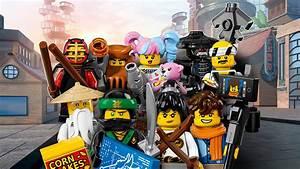 THE LEGO® NINJAGO® MOVIE™ - 71019 - LEGO® Minifigures ...
