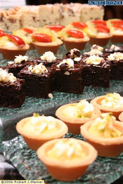 canape desserts dessert and canape by cafe georges