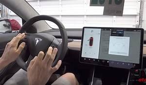 Tesla Model 3 interior features: Steering wheel adjustments, glovebox, coat hooks, vanity mirror ...