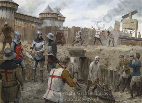studio 88 limited siege of harfleur original painting