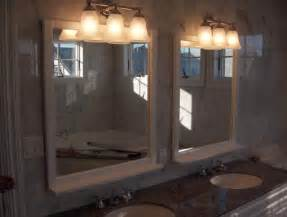 interior bathroom lighting over mirror industrial light