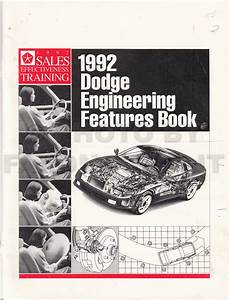 1992 Dodge Ram 50 Truck Repair Shop Manual Original 2