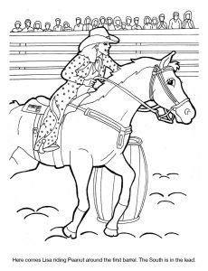 dixie stampede coloring sheet lisa peanut barrel racing coloring pages super mario