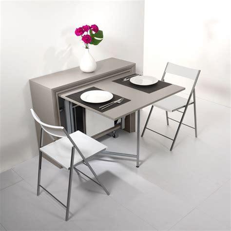 table chaises archimede set console set avec table pliable 170 x 90 cm