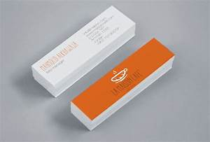 Mini business cards la maison cafe cardrabbitcom for Mini business card