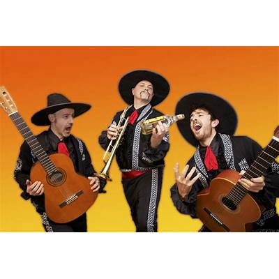 Mariachi band that performs pop songs in the mariachi