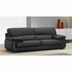 canape fixe confortable design au meilleur prix canape With canapé cuir design 3 places