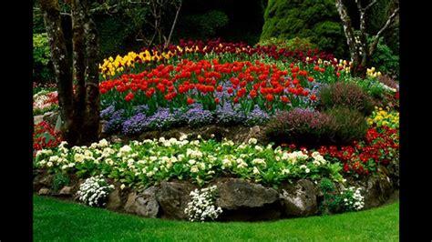 idees decoration jardin fleuri youtube
