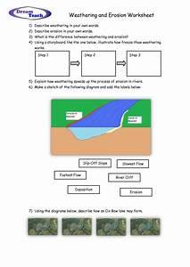 Weathering And Erosion Worksheet | school | Pinterest ...