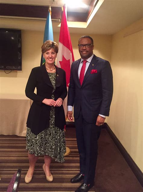 brantley engages  canadas minister   margins