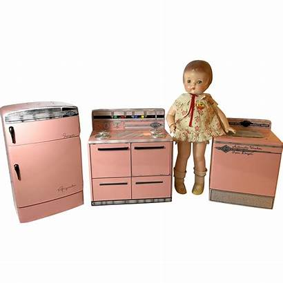 Washer Kitchen Refrigerator Dryer Wolverine Doll Sets