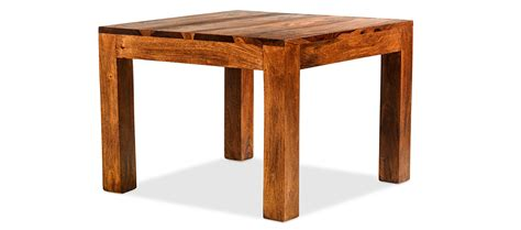 wood cube coffee table set cube sheesham 60 cm coffee table quercus living