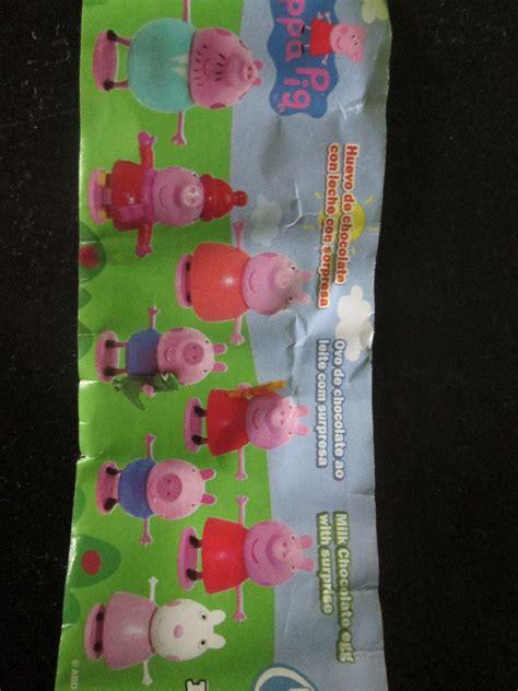 sorpresas de peppa pig mercadolibre ecuador peppa pig familia y coleccion huevo sorpresa 750 00 en