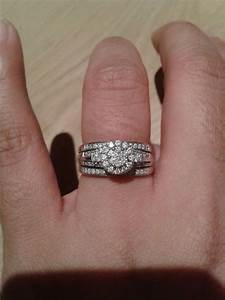 spinoff post pics of your two rings together wedding With wedding rings together